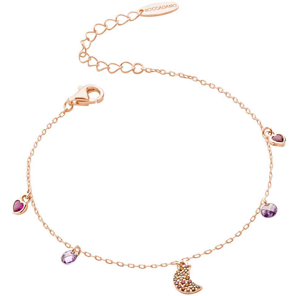 bracciale donna gioielli boccadamo gaya gbr006rs 405408