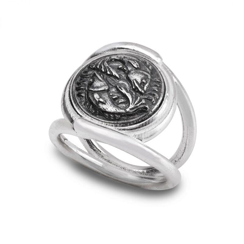 anello zodiaco pesci 30012
