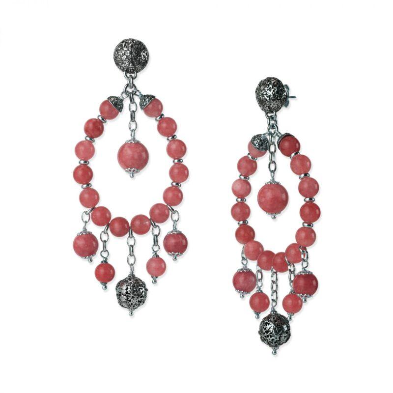 orecchini con pietre e sinacoli 28017 1