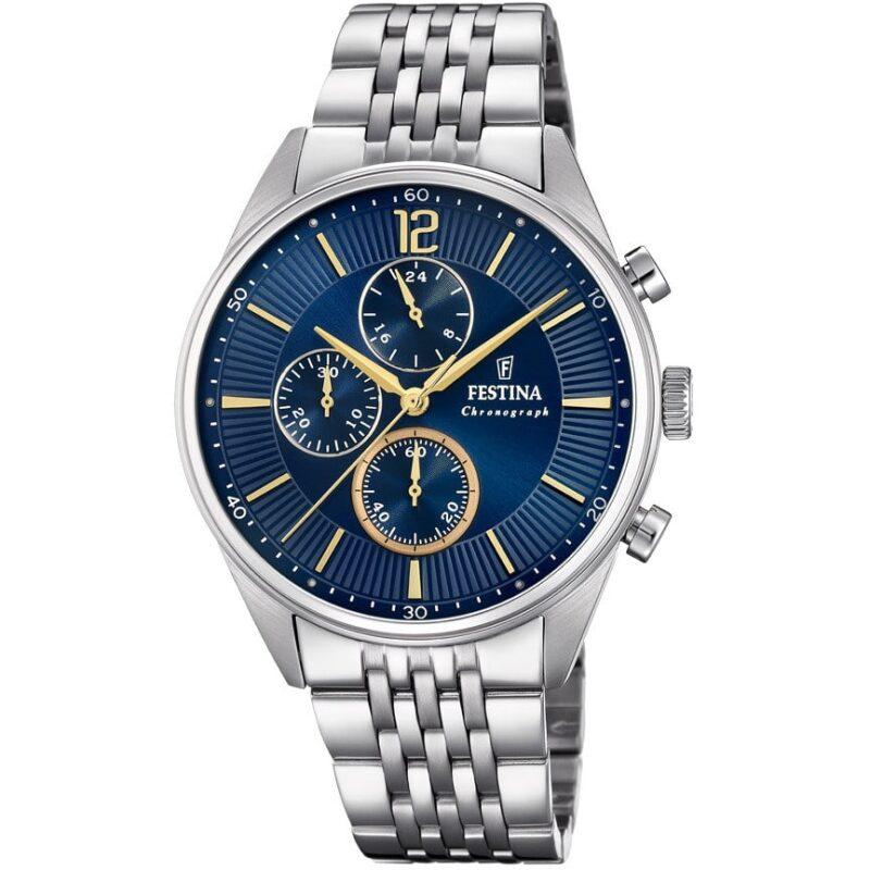 orologio cronografo uomo festina timeless chronograph f20285 3 226989