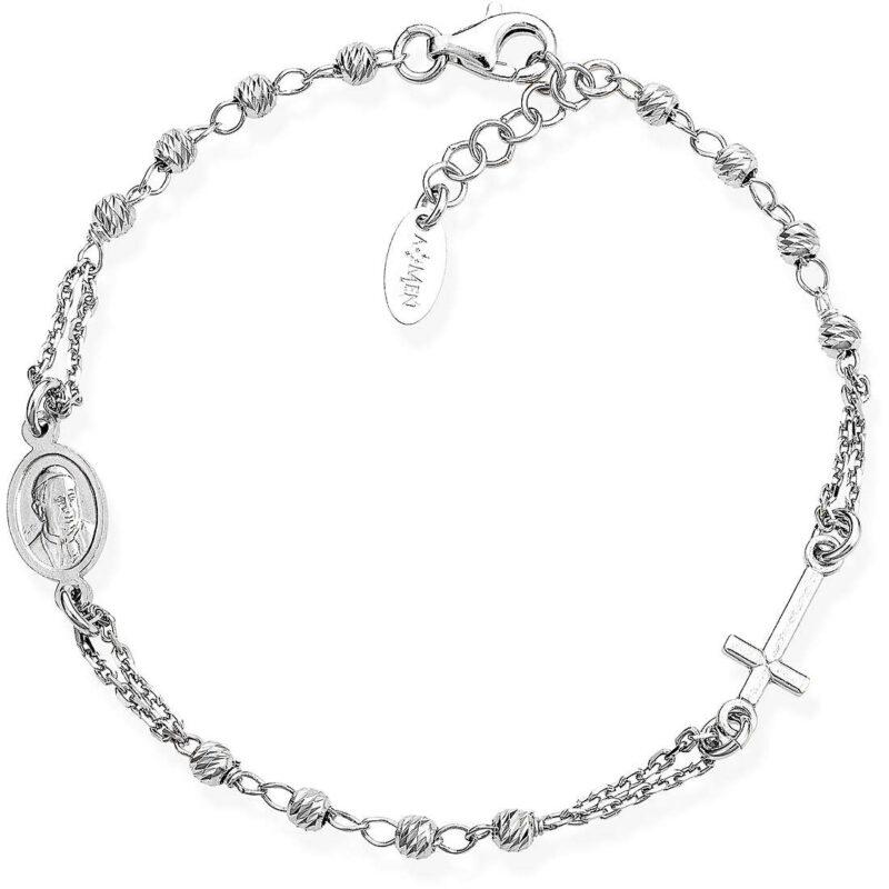 bracciale donna gioielli amen rosari brobd3 307685