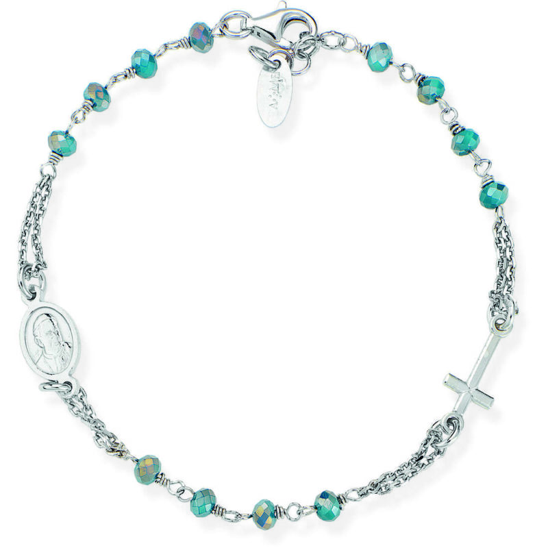 bracciale donna gioielli amen rosari brobp3 282957