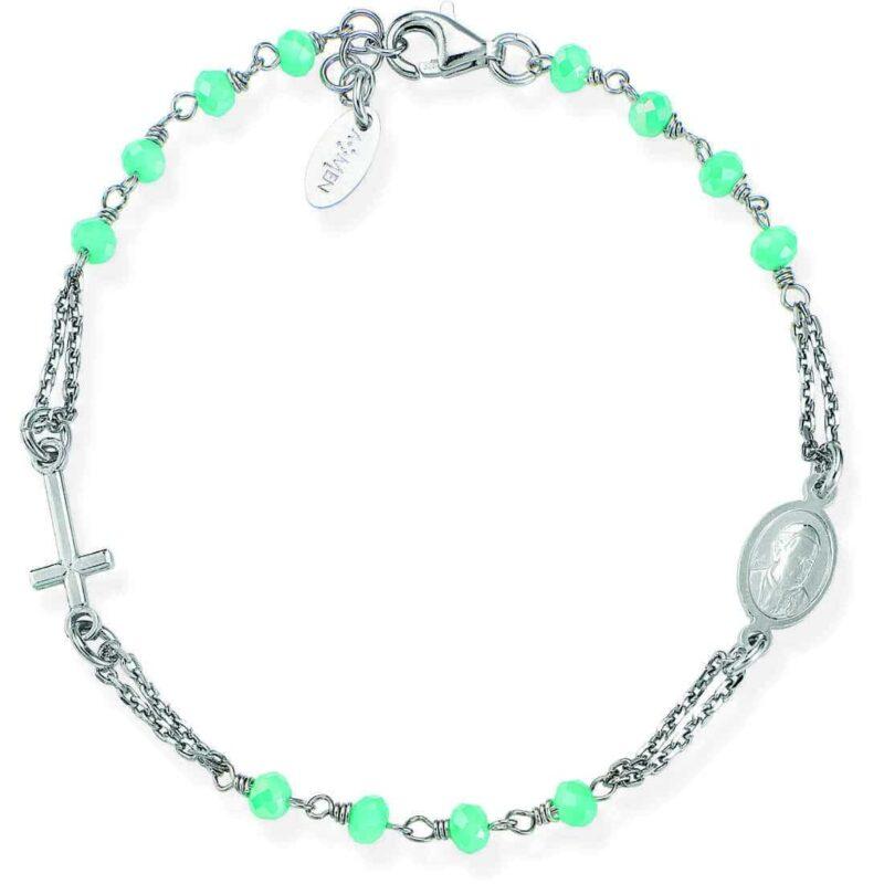 bracciale donna gioielli amen rosari brobt3 282942 1