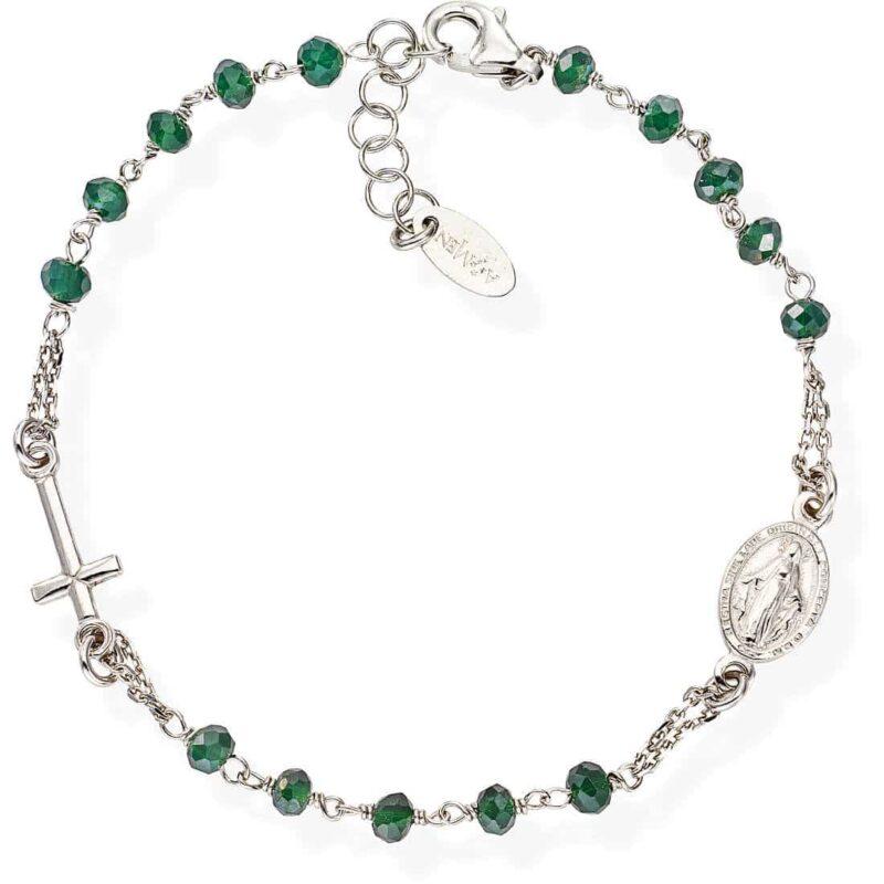 bracciale donna gioielli amen rosari brobvb3 446717