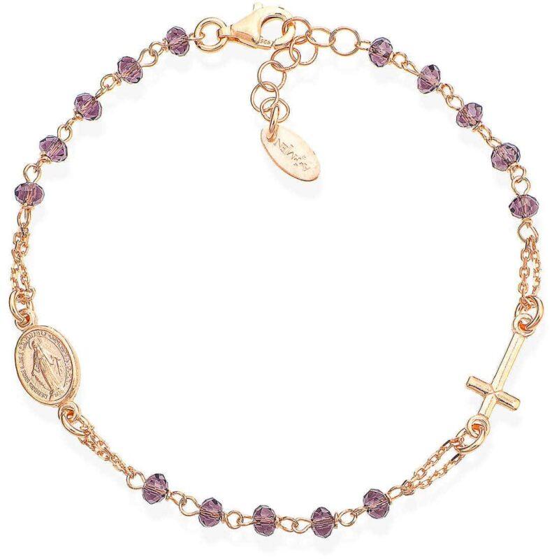 bracciale donna gioielli amen rosari brorl3 307697