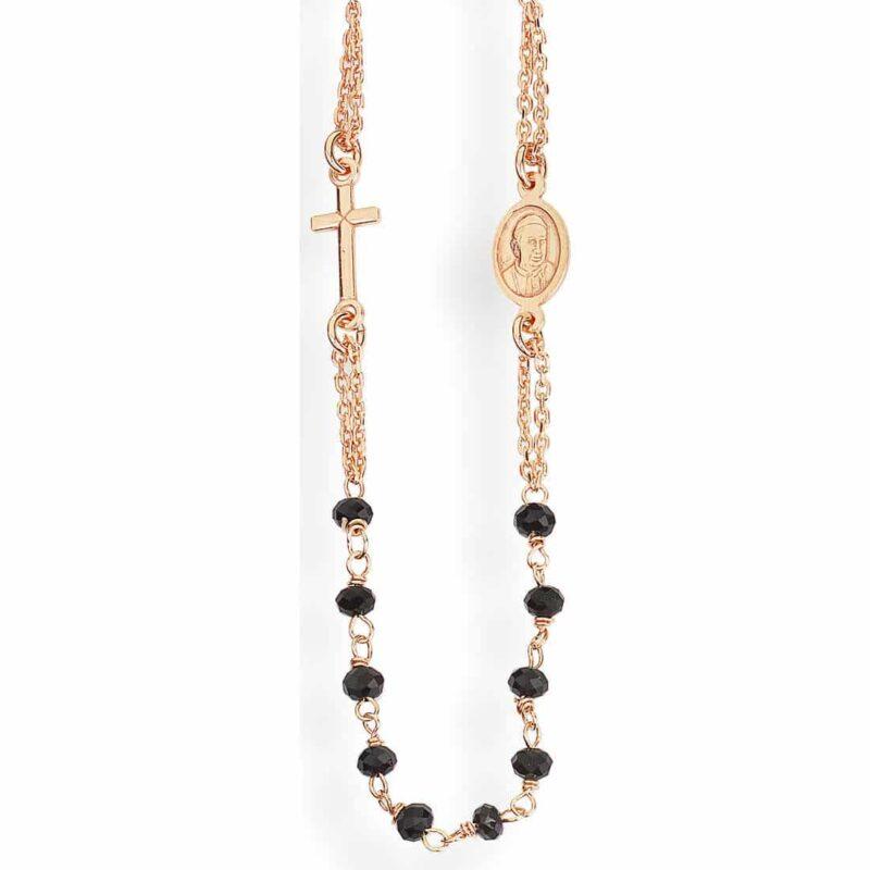 collana donna gioielli amen crorn3 57997