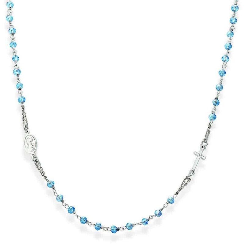 collana donna gioielli amen rosari crobc3 282962
