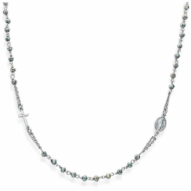collana donna gioielli amen rosari crobf3 282947