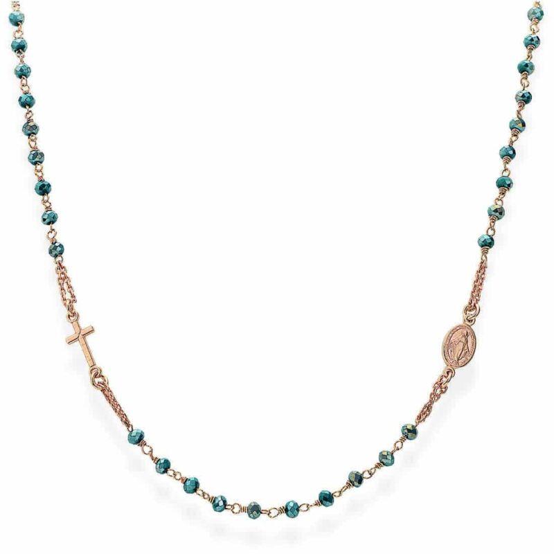 collana donna gioielli amen rosari crorp3 282959 1