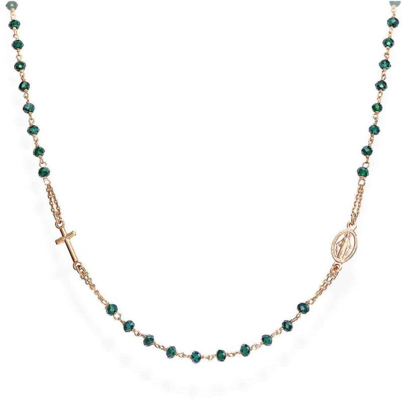 collana donna gioielli amen rosari crorvb3 446719
