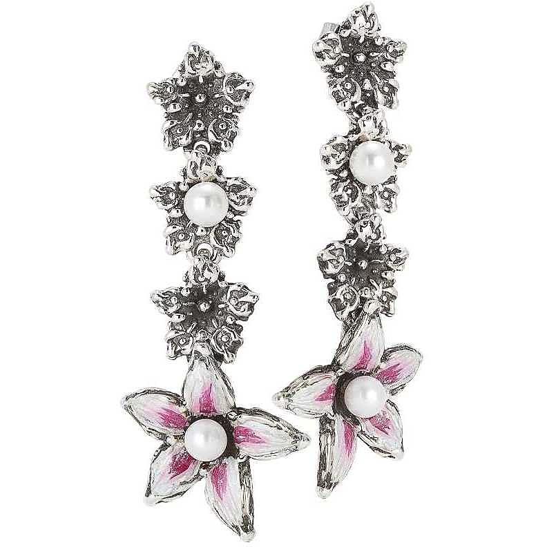orecchini donna gioielli bottega boccadamo lilium bor006f 444322