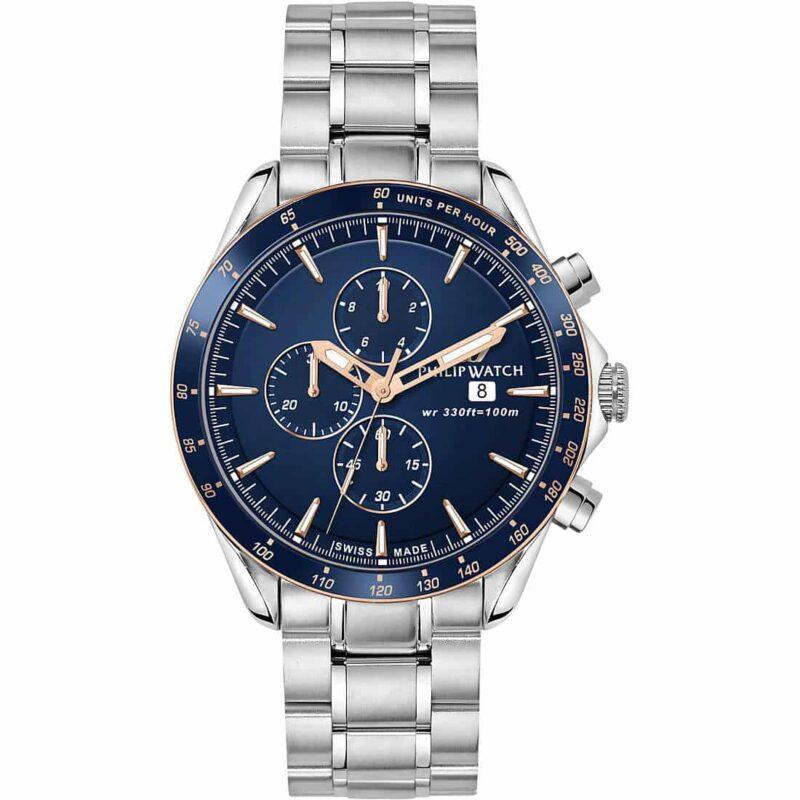 orologio cronografo uomo philip watch r8273995006 464697