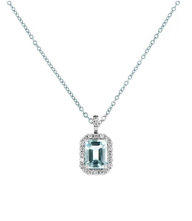 collana davite delucchi donna in oro bianco con diamanti e acquamarina e1617898773230