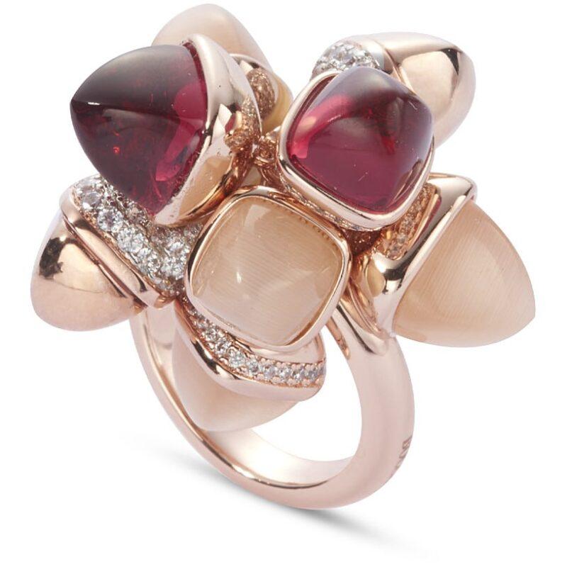 anello donna gioielli boccadamo caleida kan004rs 476405