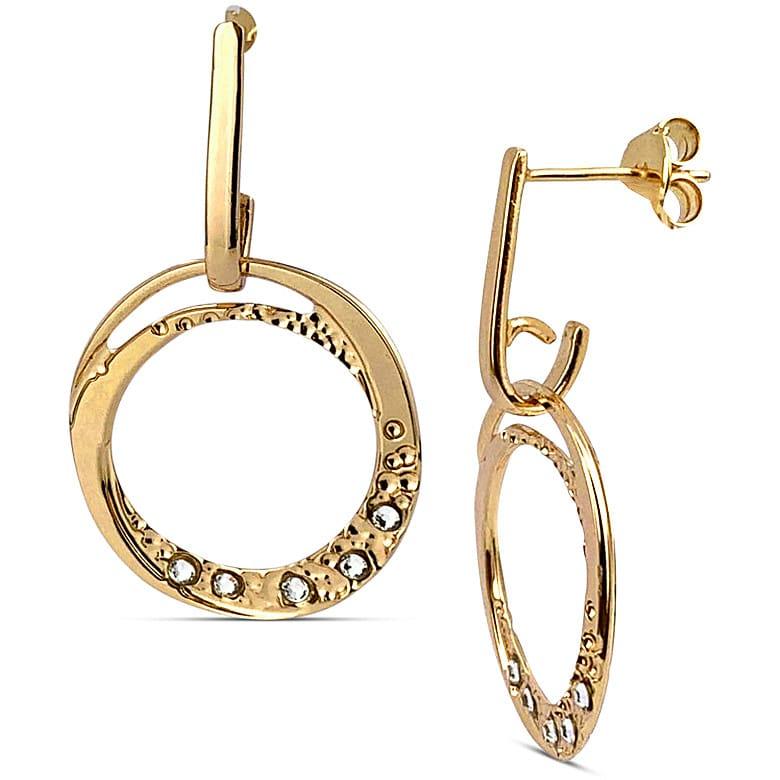 orecchini donna gioielli boccadamo magic circle